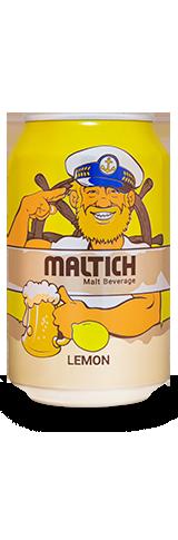 مالتایچ قوطی، طعم لیمو